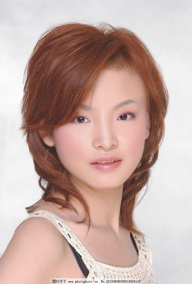 时尚发型 时尚 发型 美发 发型设计 美容 化妆 女性女人 人物图库