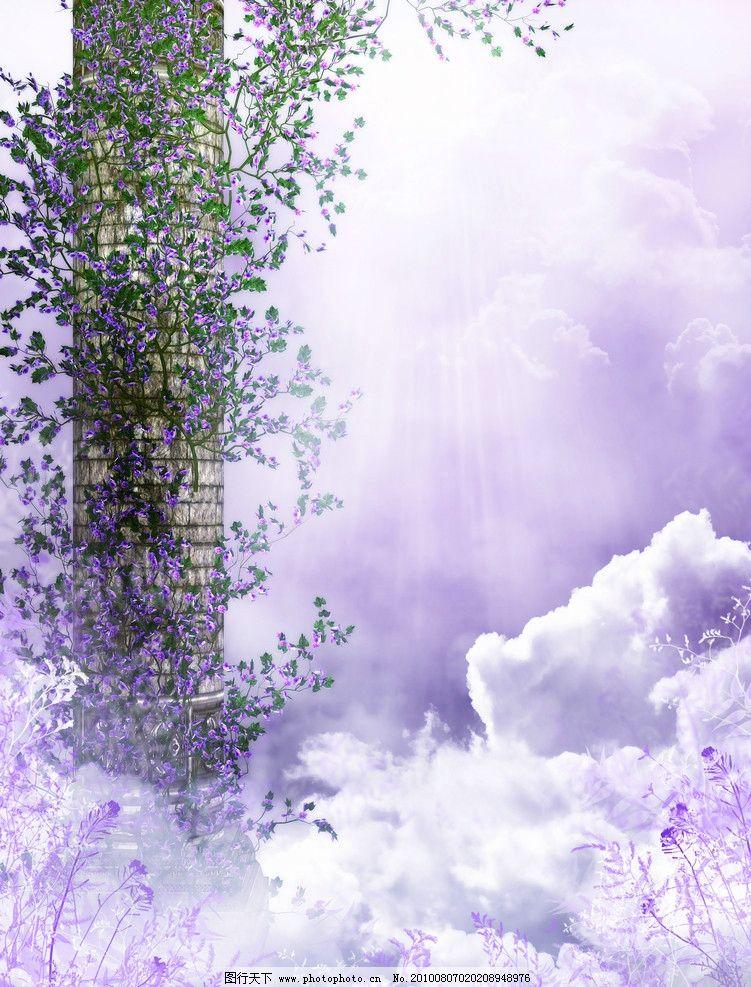 影楼模板 相片模板 照片模板 风景 婚纱背景 摄影背景 婚纱模板 梦幻