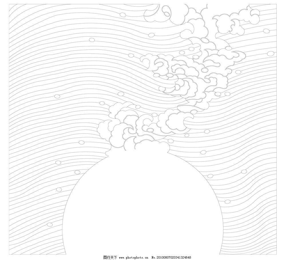 海浪背景 海浪 底纹图案 花边花纹 底纹边框 设计 300dpi jpg