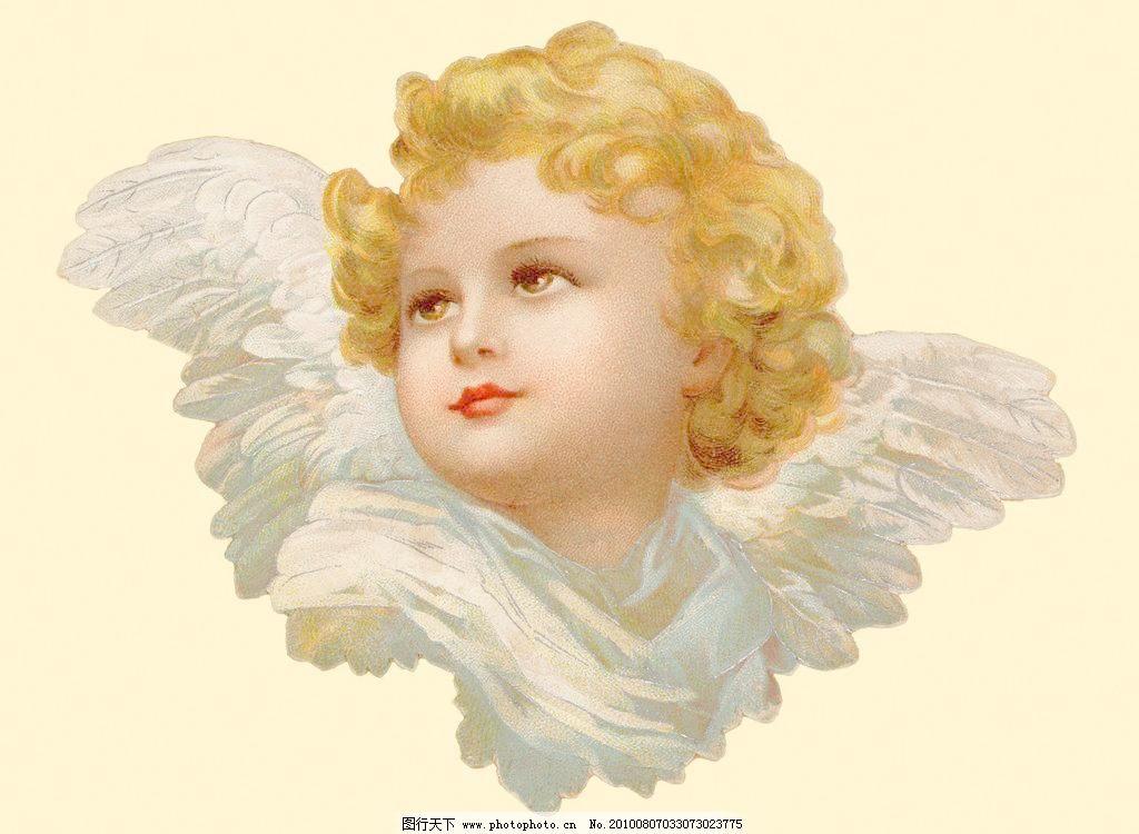 油画天使 油画天使设计素材 油画天使模板下载 油画天使 天使 翅膀