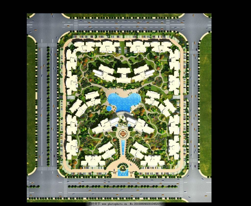 广场 景观设计效果图
