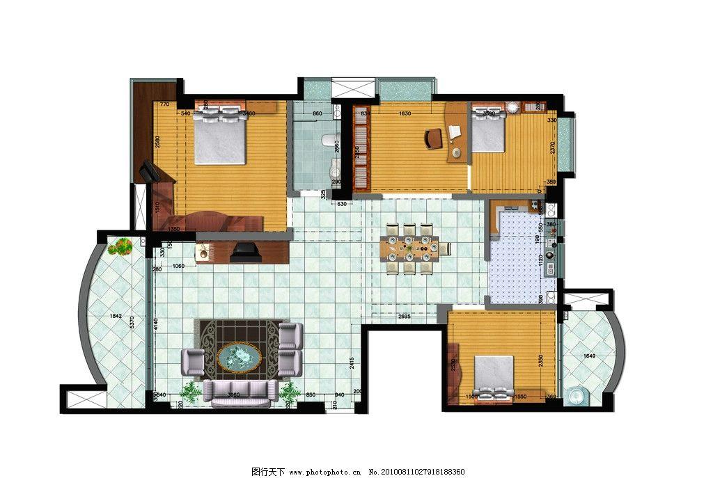 室内设计平面图图片
