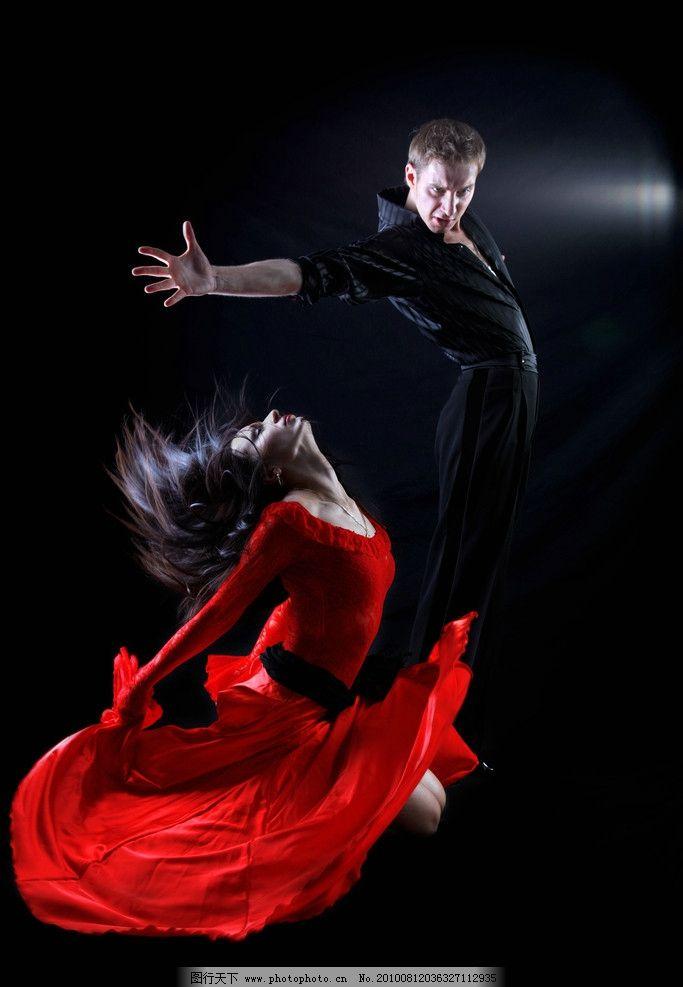 彩铅手绘舞者图片