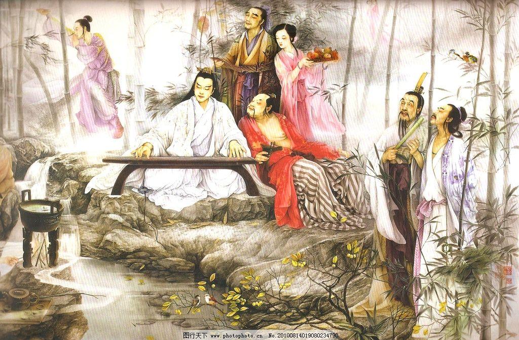 中国古代工笔重彩画