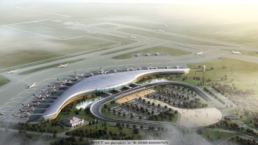 合肥新桥国际机场 新桥机场 合肥机场 候机楼 飞机场 起飞