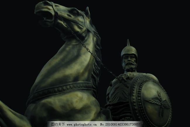 骑士雕塑 骑士雕塑免费下载 盾牌 罗马 青铜 图片素材 其他