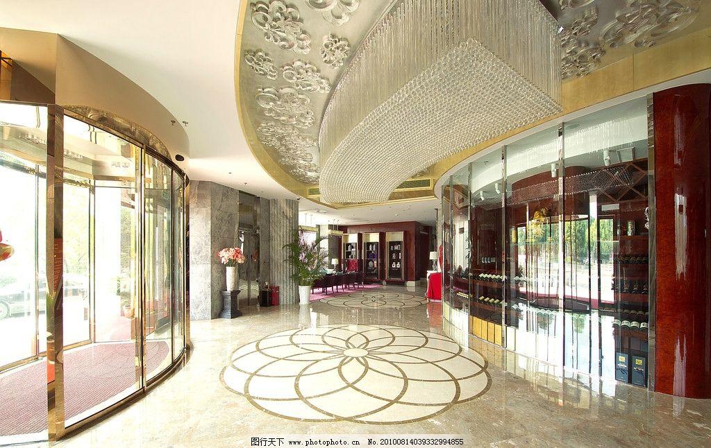 豪华酒店大厅图片