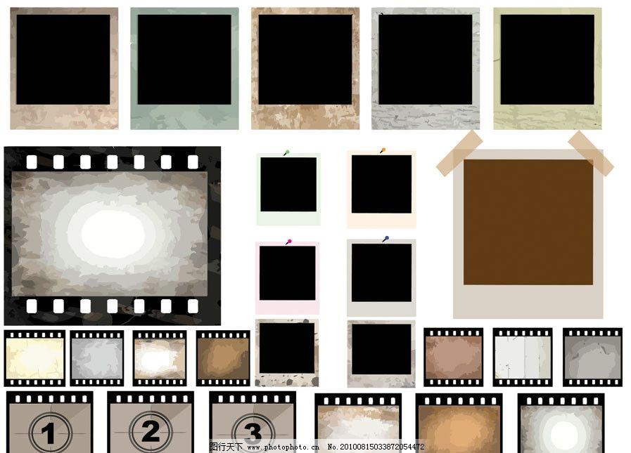 胶卷矢量素材图片