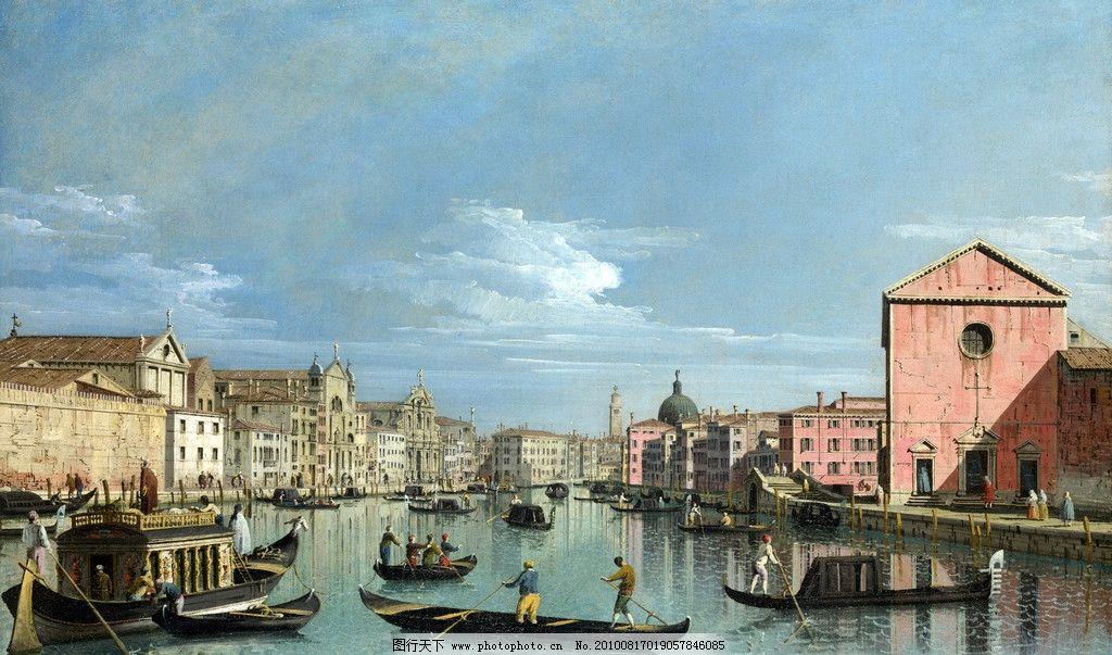 油画 西方油画 世界名画 英国油画 风景 风景画 风景油画 油画风景