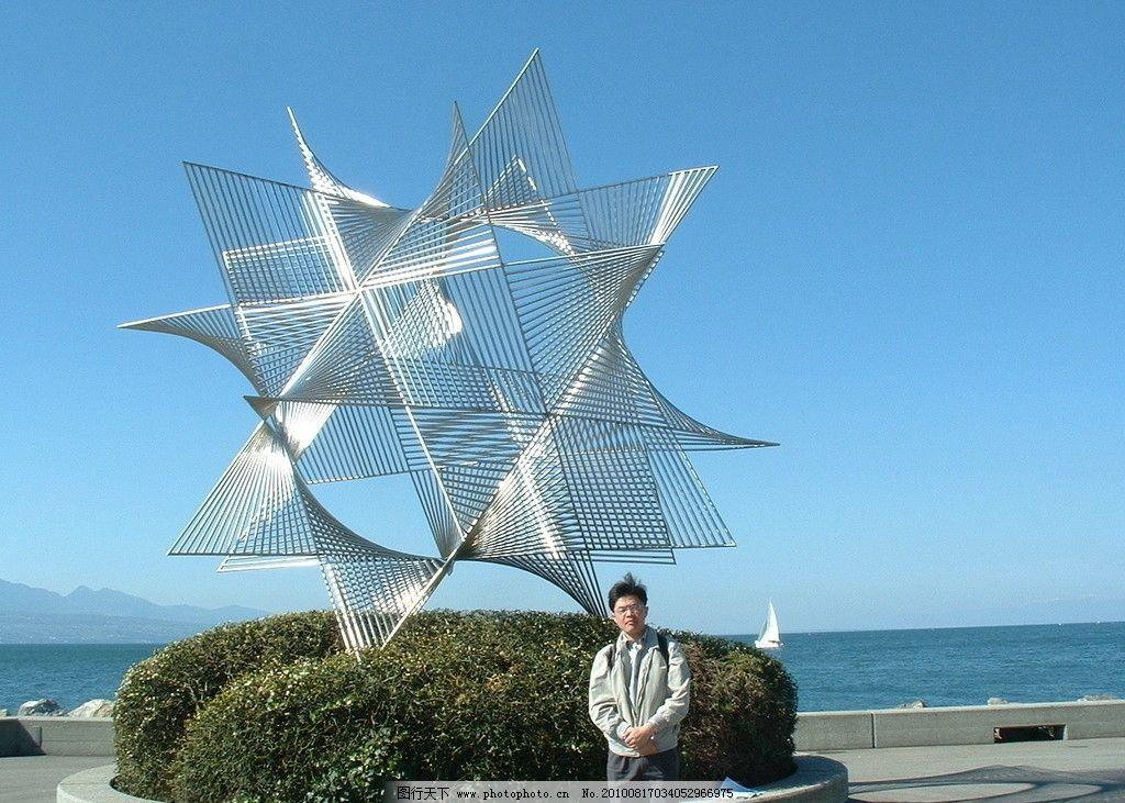 秦皇岛海边雕塑