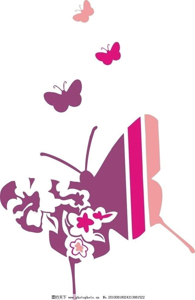 印花 图案 背景 花形 矢量 cdr 插画 动物 昆虫 贴布 绣花 底纹 线条