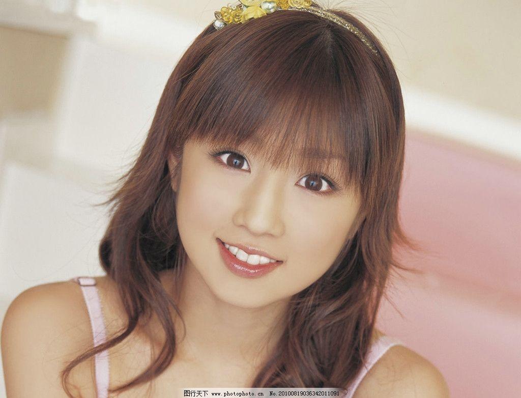 小仓优子 日本女星 写真模特 甜美少女 发卡 可爱 明星偶像 人物图库