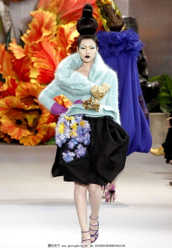 迪奥时装(dior) 美模 fashion