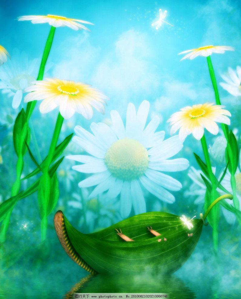 浪漫花朵 童话世界图片