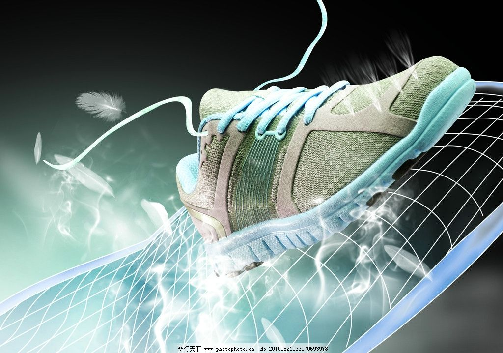 鞋pop 海报 科技图片