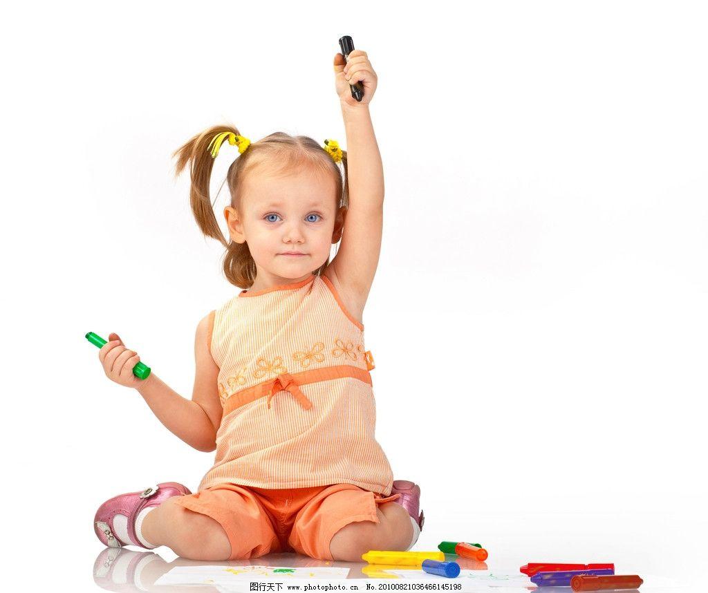 儿童高清图片,小孩 快乐 顽皮 可爱 调皮 七彩 色彩