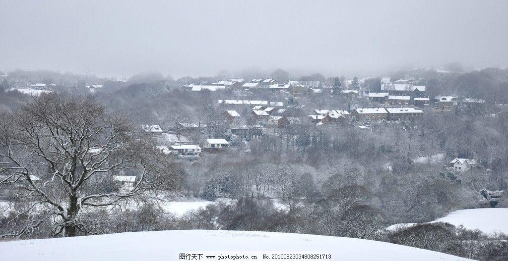 雪景 树林 风景 丛林风景 雪地 雪 自然 风光 自然风光 积雪 冬 冬天