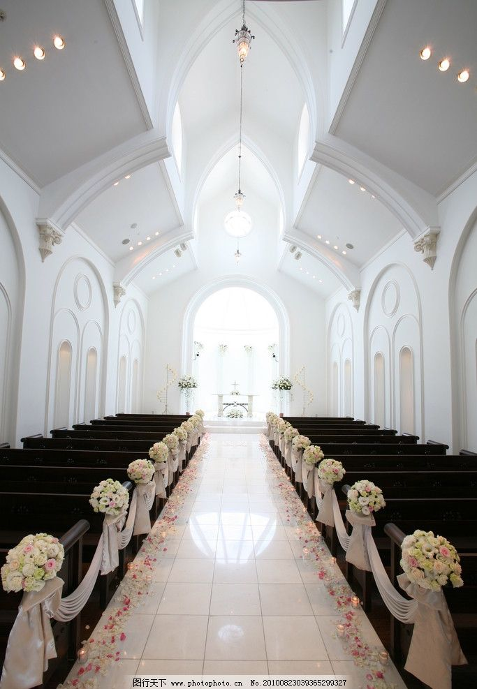婚礼 教堂图片