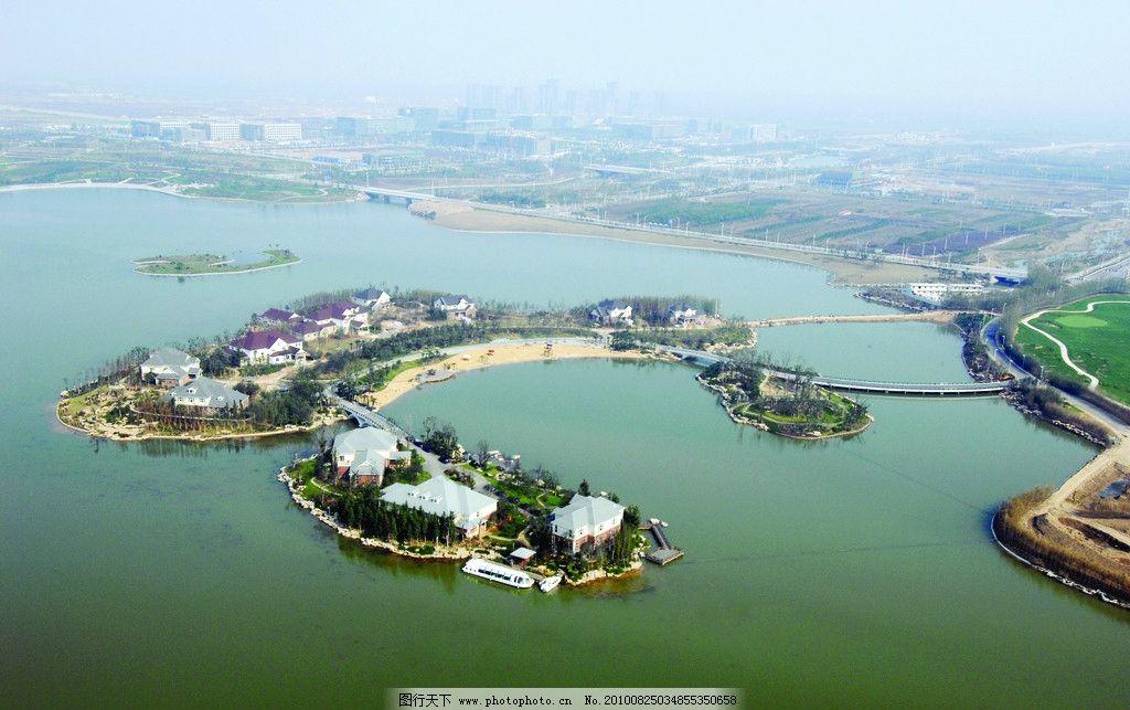 徐州大龙湖 徐州山水 大龙湖鸟瞰 徐州新城区 自然风光 自然风景