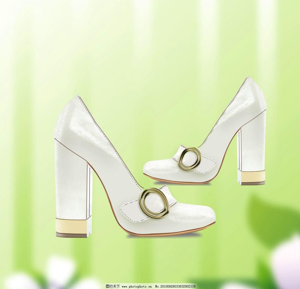 鞋类 ps源文件 手绘效果图 鞋图 设计 创意 鞋 配色 时尚 女鞋 其他