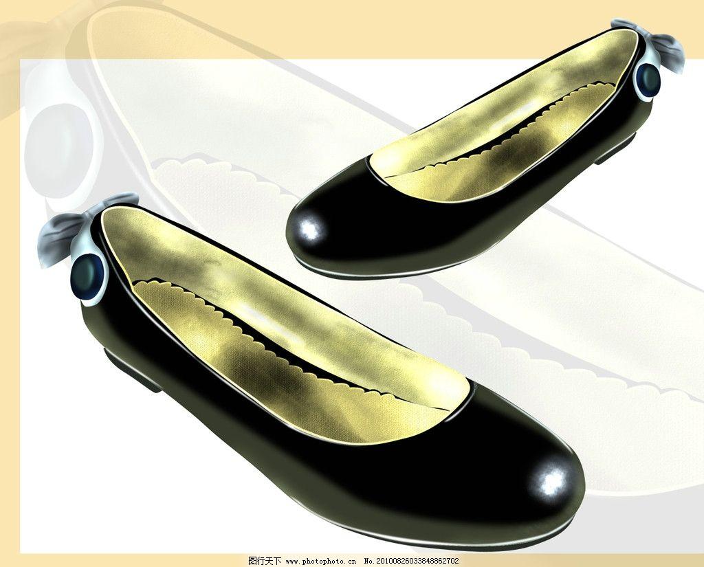 鞋类 ps源文件 手绘效果图 鞋图 设计 创意 鞋 配色 时尚 女鞋 平底皮