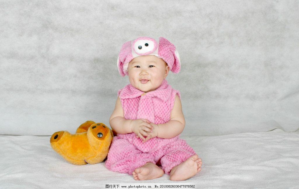 宝宝 儿童 摄影 害羞 高兴 小淘气 儿童幼儿 人物图库 180dpi jpg