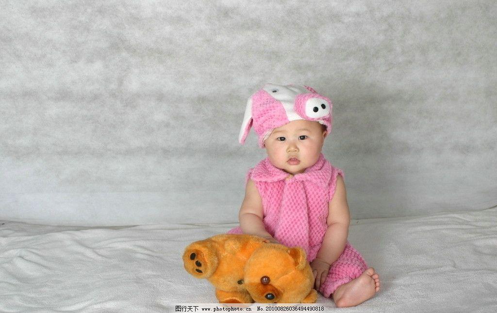 宝宝 儿童 摄影 害羞 高兴 发呆 儿童幼儿 人物图库 180dpi jpg