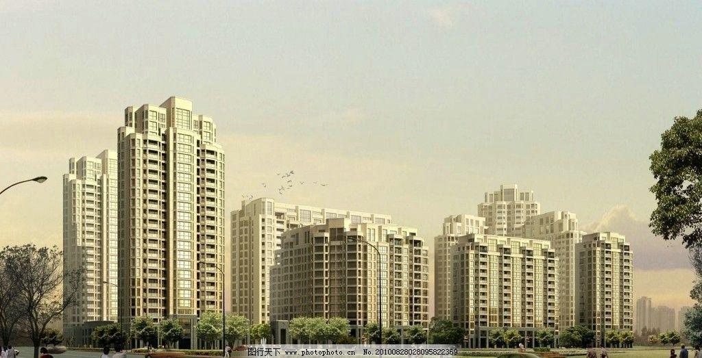 壁纸 建筑/城市商业建筑效果图图片