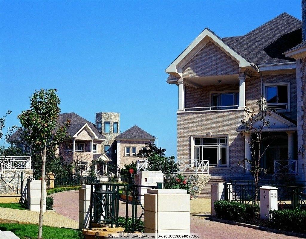 外国别墅 别墅模型与图纸 花园式别墅 别墅屋顶 外国乡村别墅 别墅