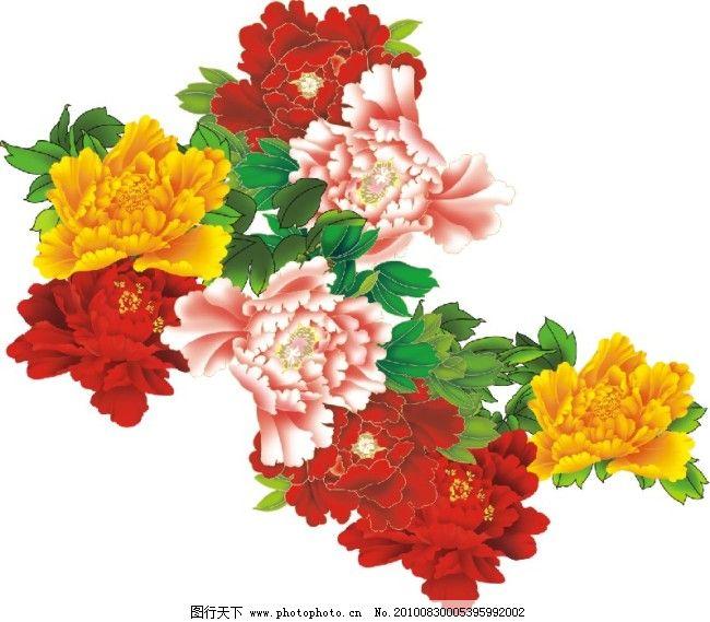 底纹      花 牡丹 设计 牡丹 花      设计 底纹 矢量图 广告设计