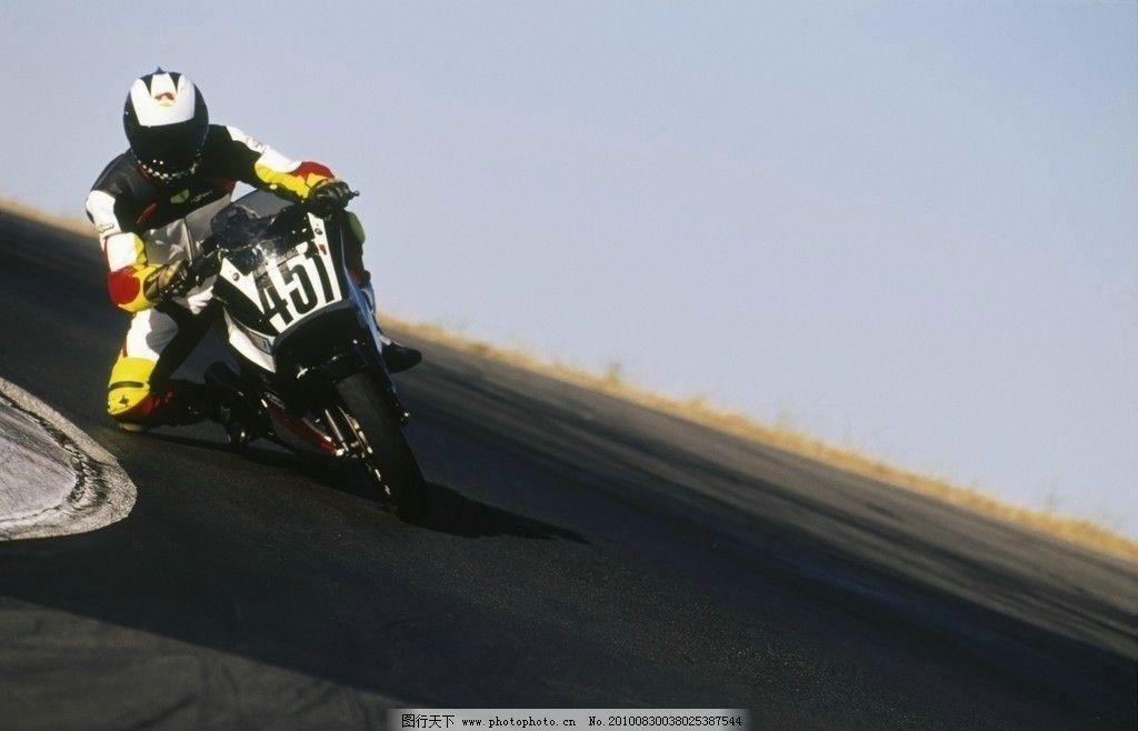 摩托车 赛车手 赛场 赛车 交通工具 现代科技 摄影 300dpi jpg