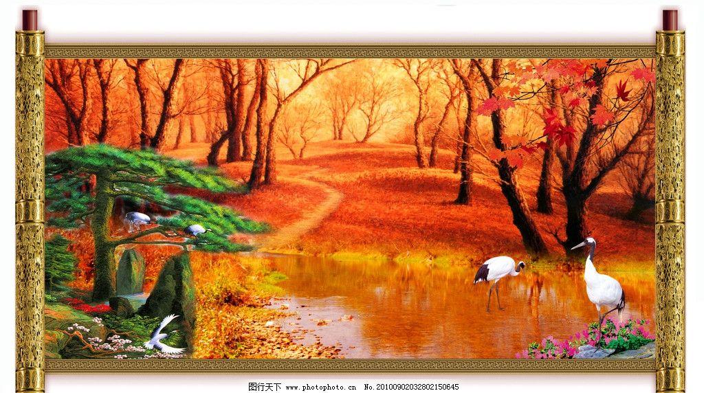 最新款 油画风景图片
