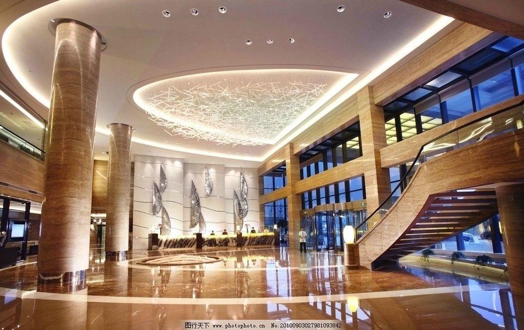 酒店大堂楼梯设计方案