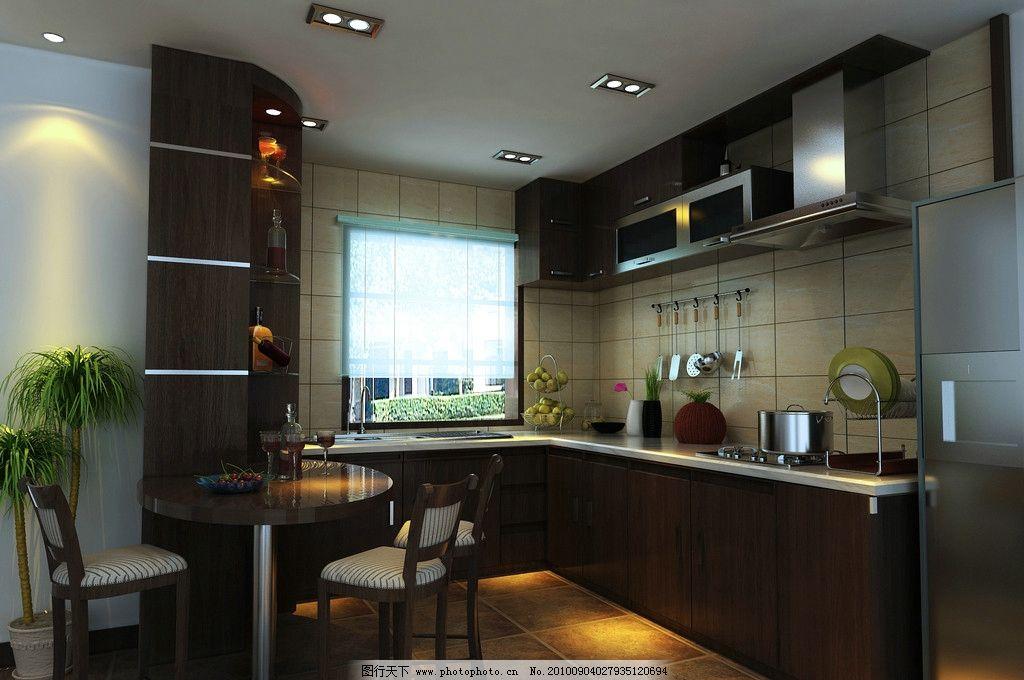 厨房图片_室内设计_环境设计_图行天下图库