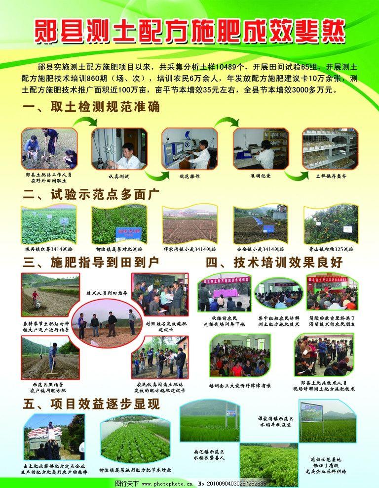 农业展板 农业局 展板 背景 展板模板 广告设计模板 源文件 120dpi