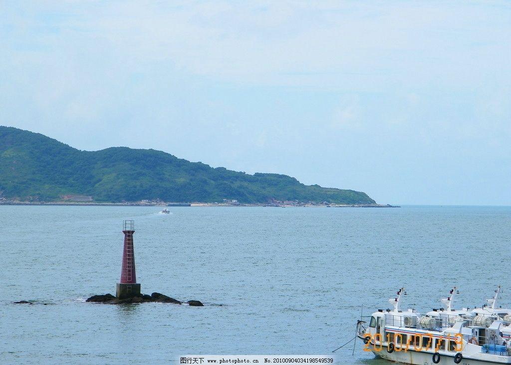 大海 自然风景 小船