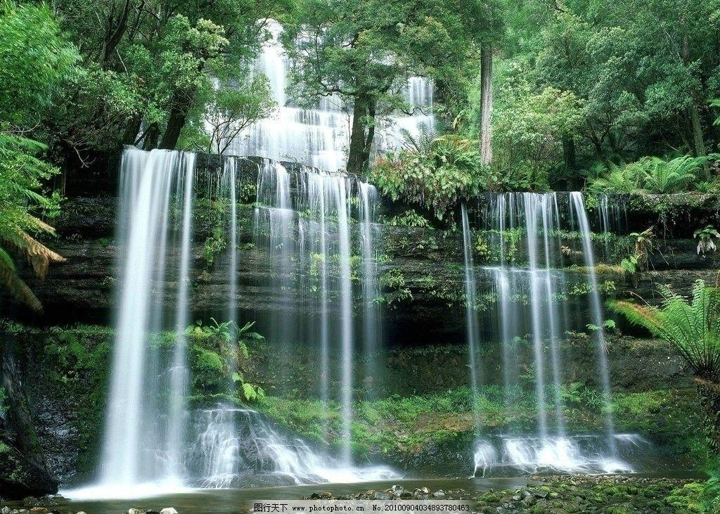 自然风景 风景 山水 山水风景 山 天空 树木 草 草地 树叶 自然景观
