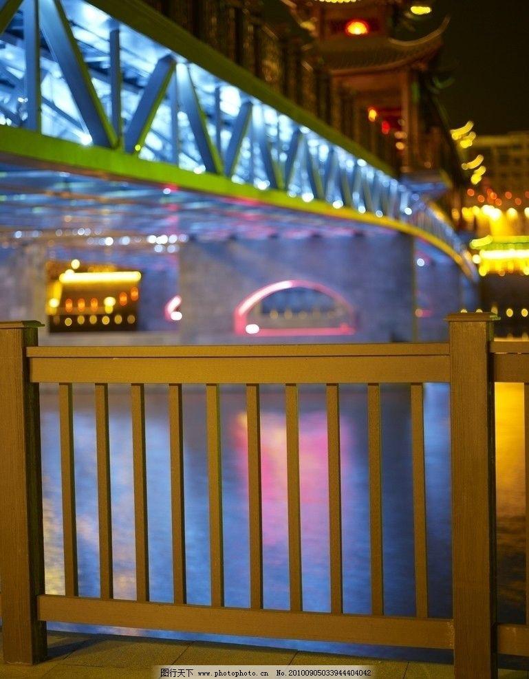 都市夜景 桥 大桥 炫彩灯光 国内旅游 旅游摄影
