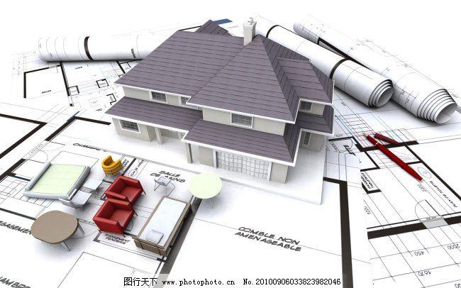 建筑设计图 建筑设计图免费下载 立体 平面 图片素材