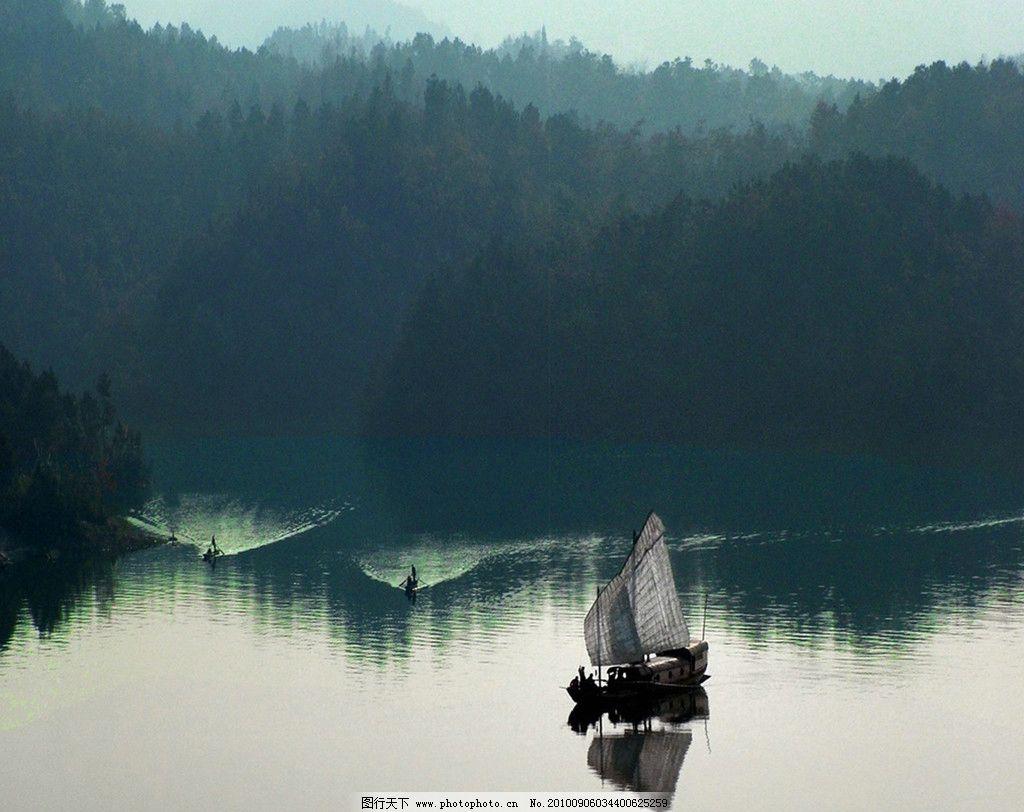 船舶图片_山水风景_自然景观_图行天下图库