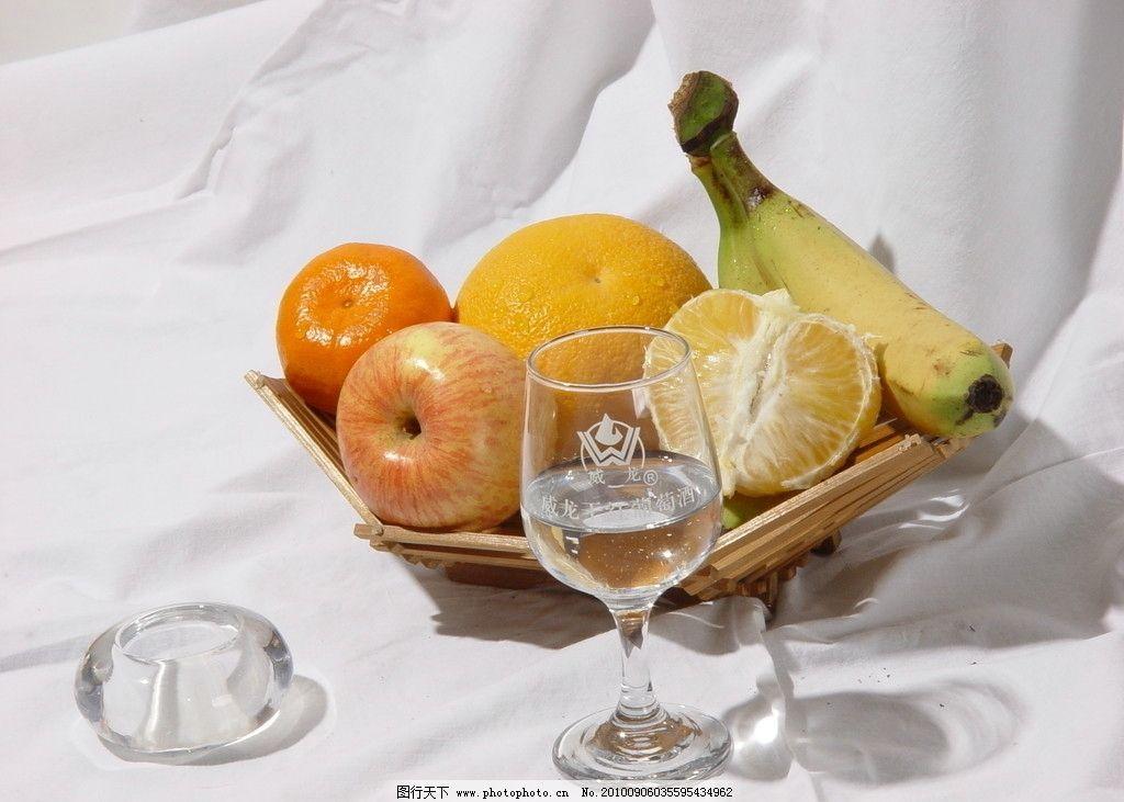 水果静物 水果 香蕉 橘子 苹果 摄影作业静物水果 生物世界 摄影 72dp图片