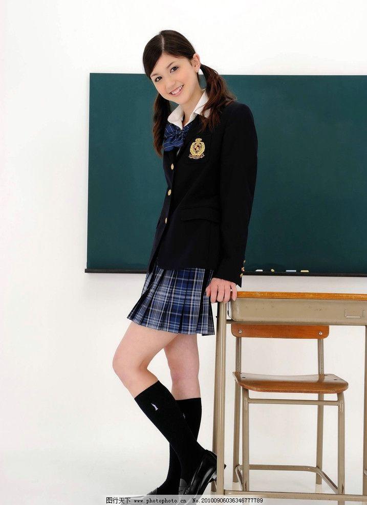 中学生 学生装 笑容 可爱 美女 清纯 学生 久保 日本学生 日本美女