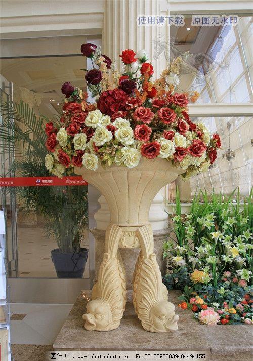 花篮 花卉 花 假花 装潢 装饰 欧式 插花 fenghc的摄影 南通影像 中南图片