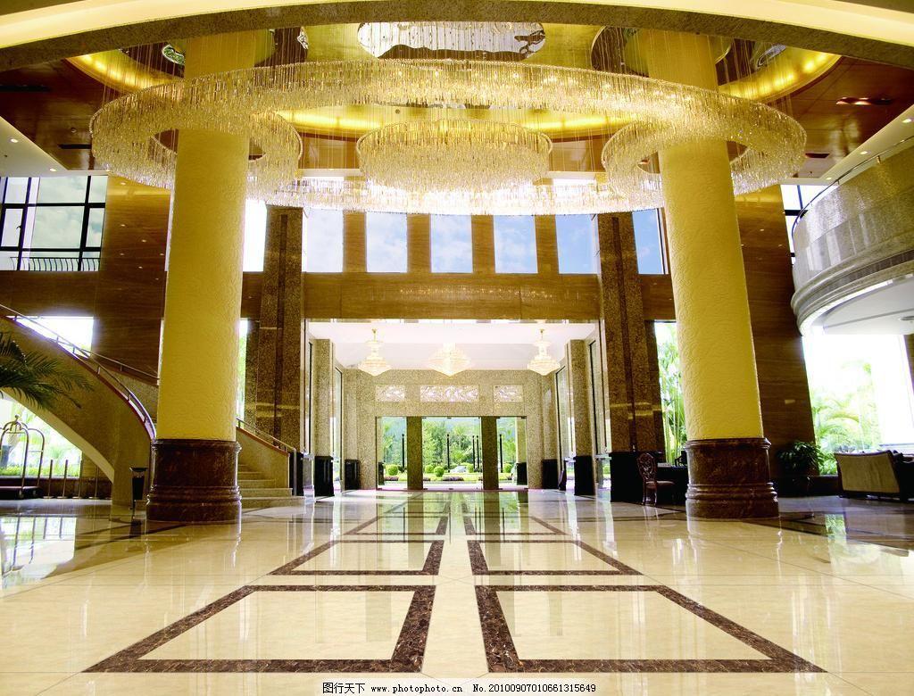 公共場所效果圖 大酒店效果圖 酒店 大廳效果圖 燈飾 大門 柱子 室內