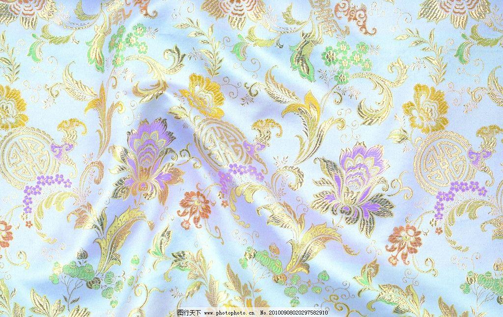 华丽丝绸 刺绣 背景 底纹 绸缎 丝绸 布料 花纹 设计 绸缎背景 背景