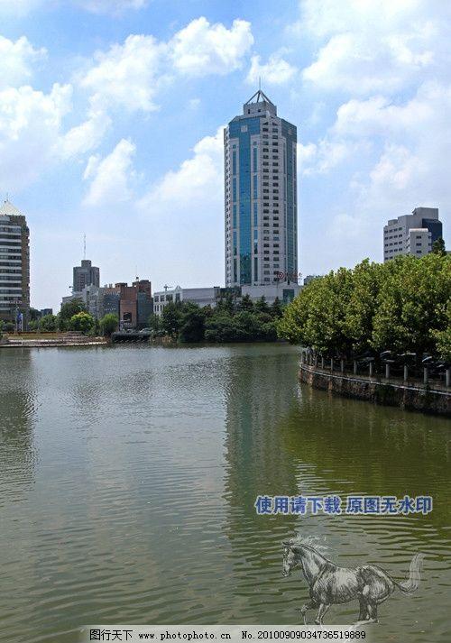 濠河风景图片