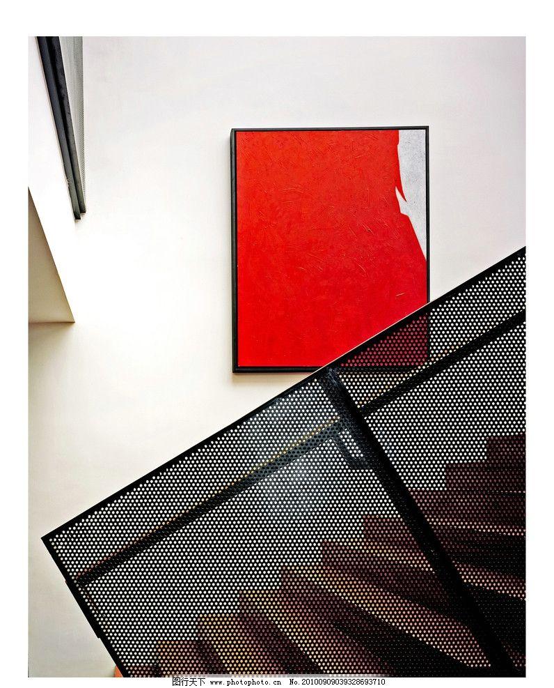万科蓝山 地产 高清 室内 抽象 楼梯 扶手 铁网 室内摄影 建筑园林