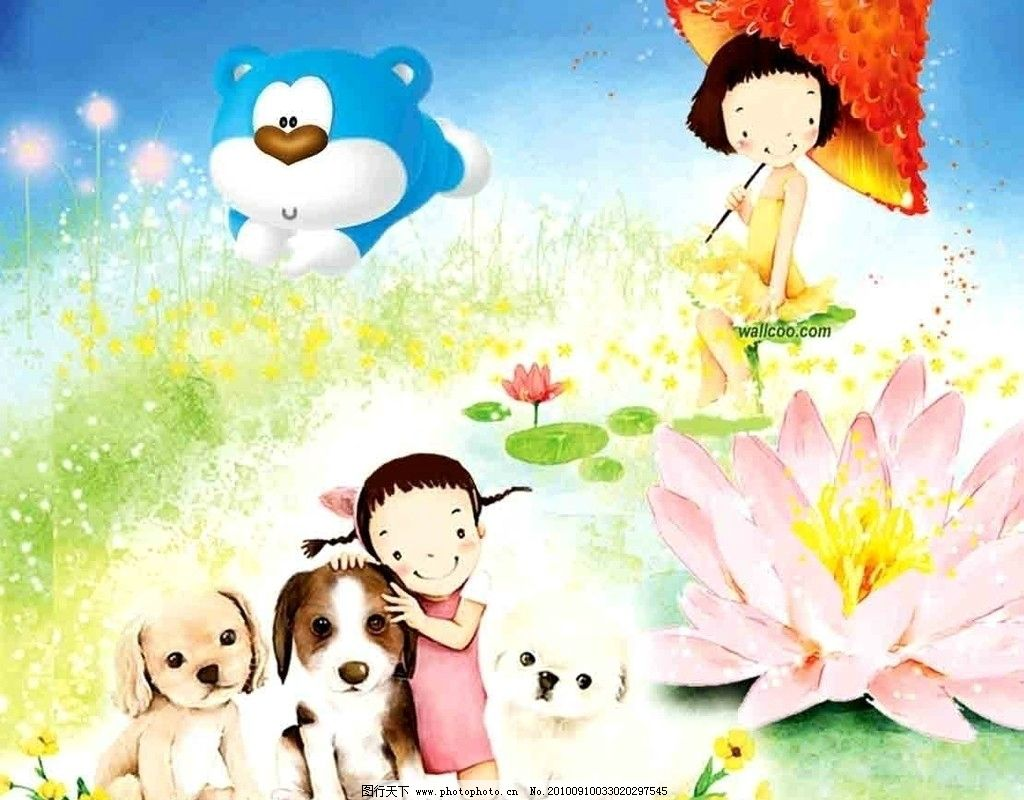 幼儿园广告 卡通画 幼儿园 幼儿园墙 卡通背景 卡通风景 卡通动物