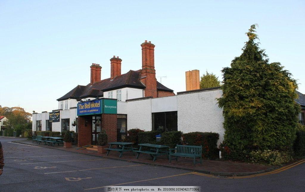建筑 英国/英国小镇建筑图片