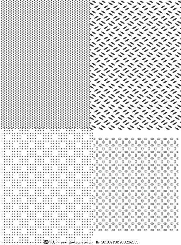 错位阵列 正方形 随圆 圆点 黑白 砖墙 错位图形 美术绘画 文化艺术